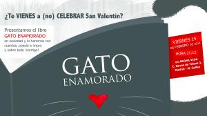 Presentamos Gato enamorado ¡en San Valentín!