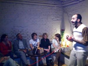 Pablo Rodríguez Monedero improvisando
